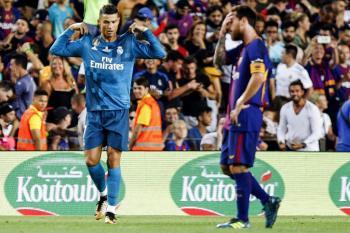 Barcelona Real Madrid Cristiano Ronaldo Messi