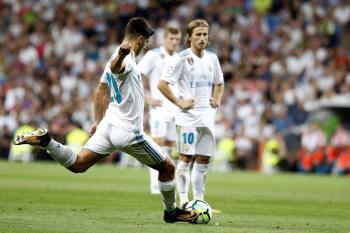 Asensio sigue imparable con el Madrid.