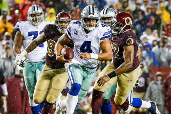 Dallas Cowboys Washington Redskins Dak Prescott