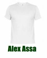 0181b609856ee ALEX ASSA - Playeras para Campañas